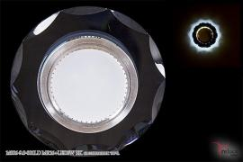 Точечный светильник 14006-9.0-001LD MR16+LED3W BK