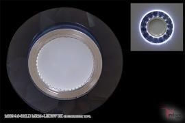 Точечный светильник 14008-9.0-001LD MR16+LED3W BK