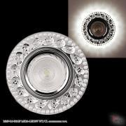 Точечный светильник 16169-9.0-001GP MR16+LED3W WT/CL