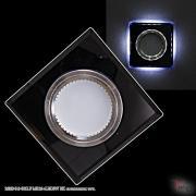 Точечный светильник 16310-9.0-001LF MR16+LED3W BK